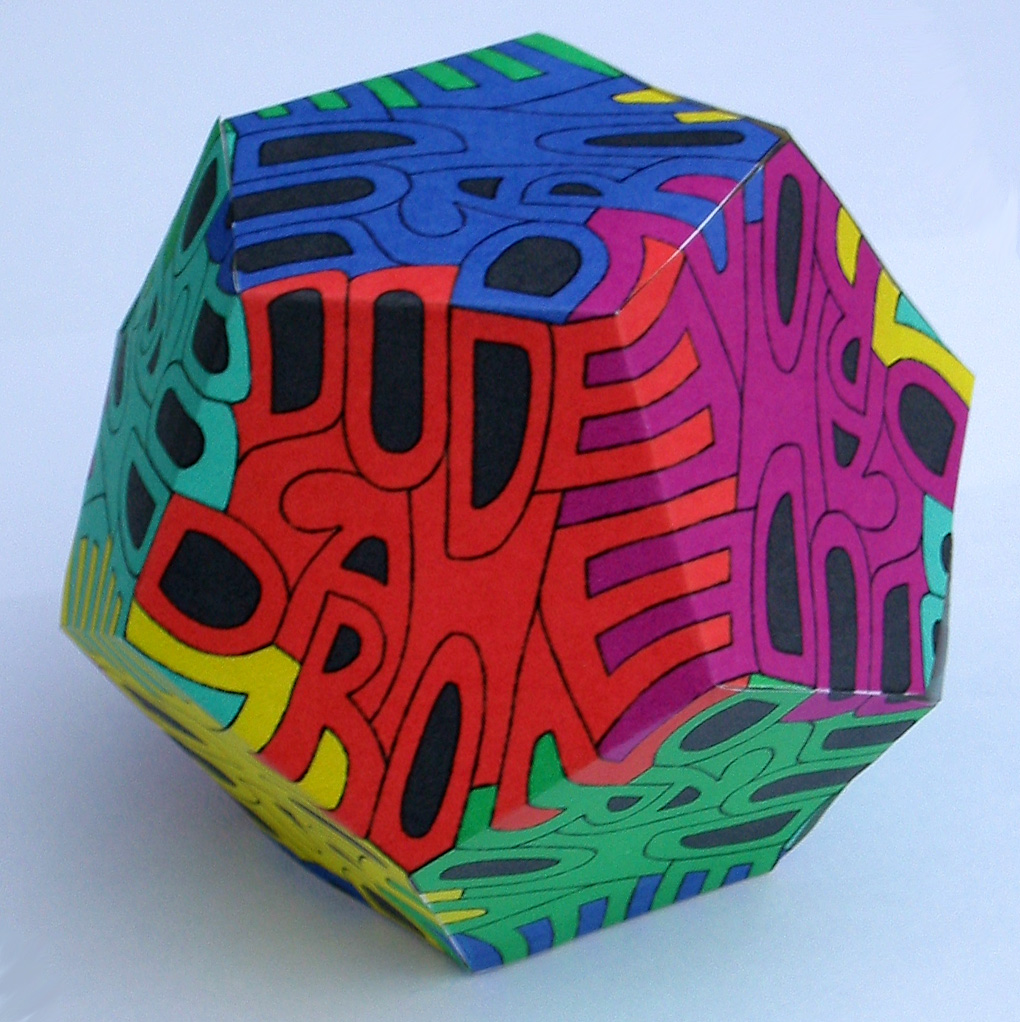 Dodecahedron Autologlyph 89BDQ2GZ8 By Henryseg